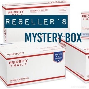 Re-Seller's Mystery Box New Retail over $115